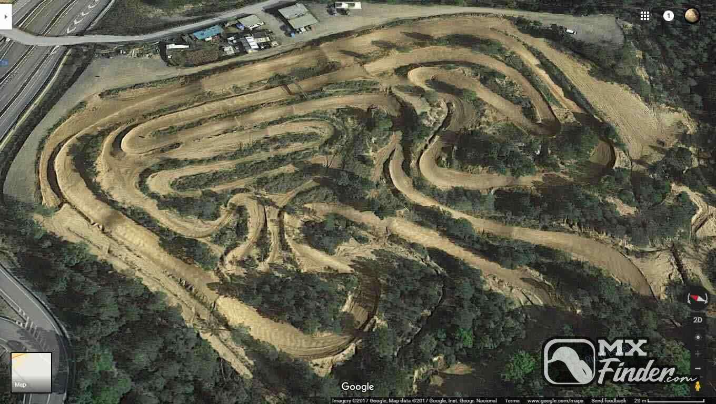motocross, Can Mariano, Santa Coloma de Farners, motocross track