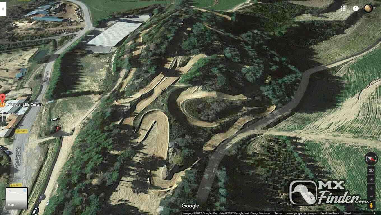 motocross, Els Cortals, Sant Hilari Sacalm, motocross track