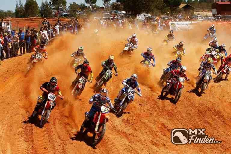 motocross, Las Arenas, Valverde del Camino, motocross track