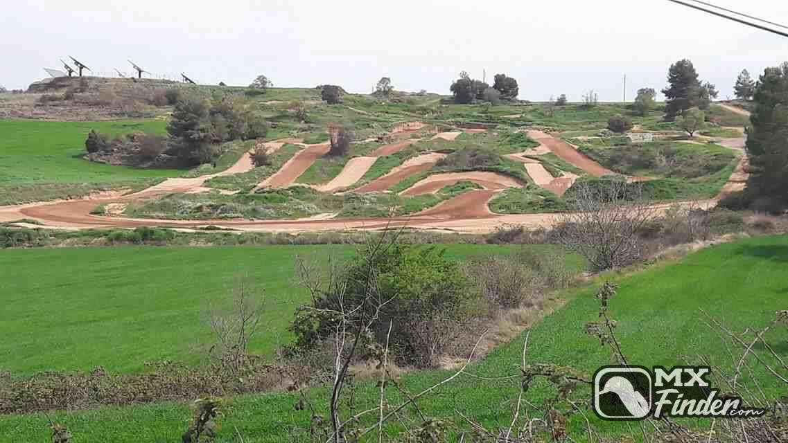 motocross, El Pinyer, Fonollosa, motocross track