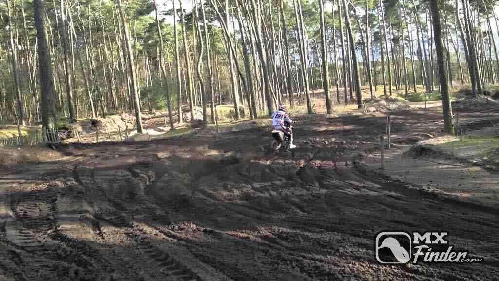 motocross, Honda Park, Olmen, motocross track